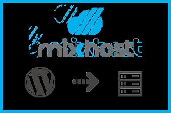 mixhostにWordPressをインストールする方法