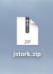 テーマのZIPファイル
