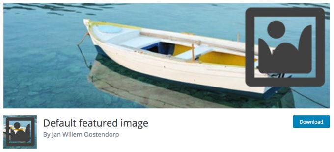 WordPressでデフォルトのアイキャッチ画像を設定するプラグイン