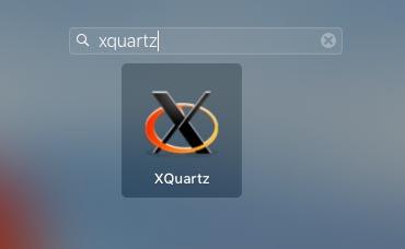 XQuartzのインストールを確認する